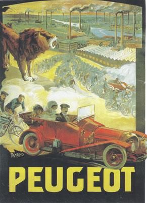 Reclame van Peugeot.