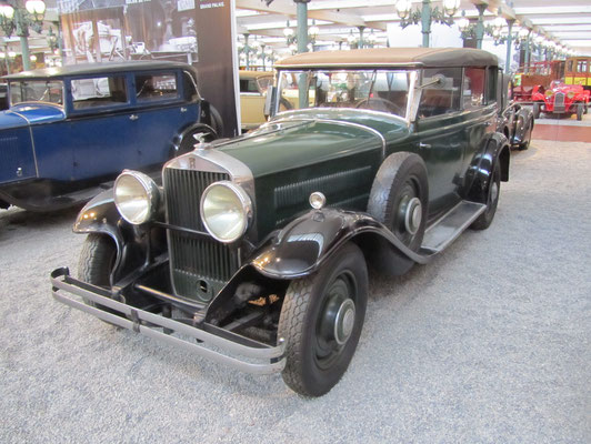 Horch Limousine Type 450 uit 1931 (Collection Schlumpf).
