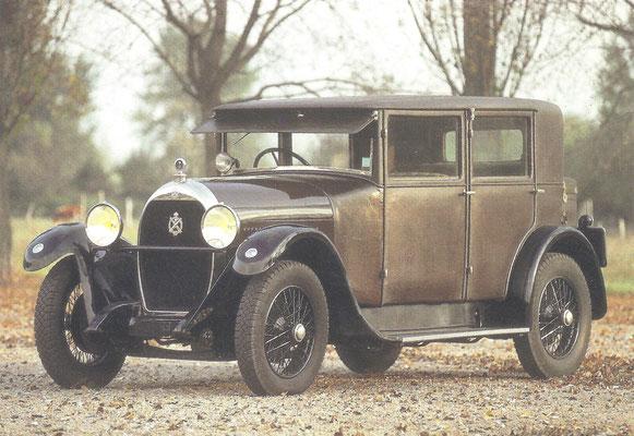 Een Hotchkiss AM2 (1925-1932).