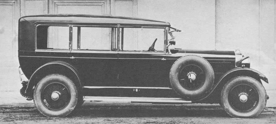Steyr Type XVI Limousine.