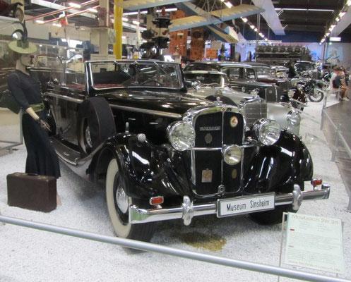 Maybach SW 38 uit 1937. (Technik Museum Sinsheim)