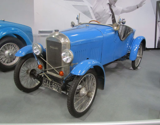 Amilcar CC uit 1922. (Technik Museum Sinsheim)