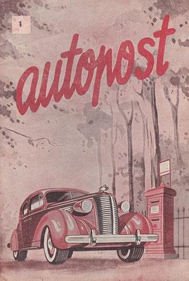 Autopost, algemeen auto-onderricht, 24 nummers, eind veertiger jaren van vorige eeuw.