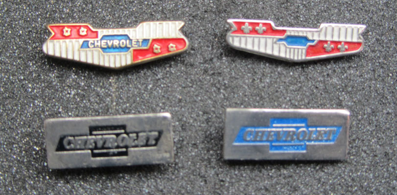 Chevrolet speldjes.