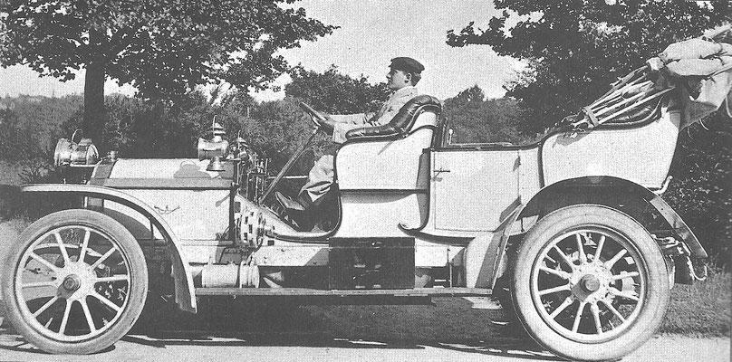 Een Turcat-Méry uit 1912.