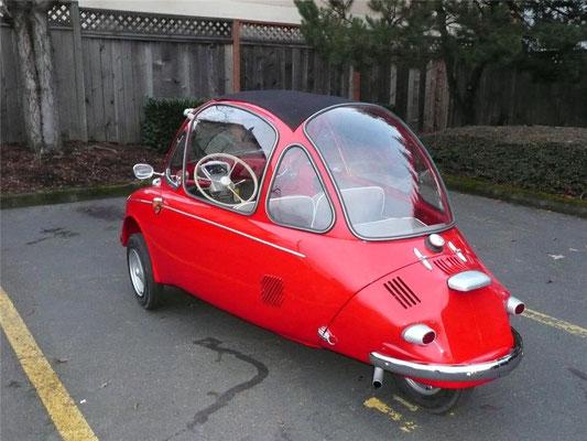 Heinkel Trojan uit 1963.