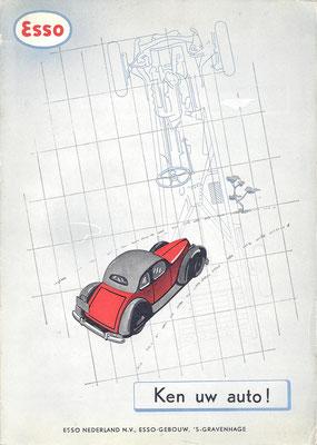 Ken uw auto. Een uitgave van Esso Nederland N.V. Vierde druk.