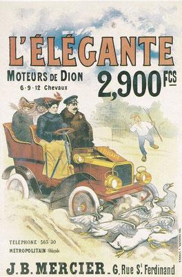 Advertentie L'Élégante uit Parijs (1903-1907).
