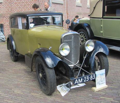 Een Amilcar Martin uit 1928 op het Concours d'Élégance 2016 op Paleis Het Loo in Apeldoorn.