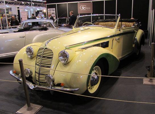 Delahaye 135 M Chapron uit 1947. (Techno Classica Essen 2019)
