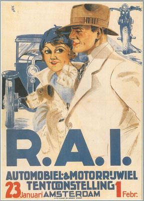Een affiche voor de RAI 1931.