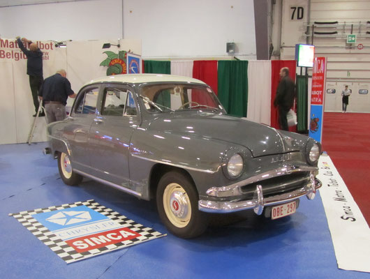 Simca Aronde. (Interclassics Brussels 2018)