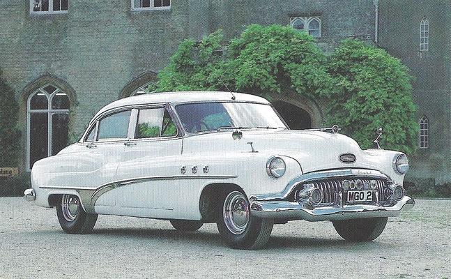 Buick Super Eight uit 1951.