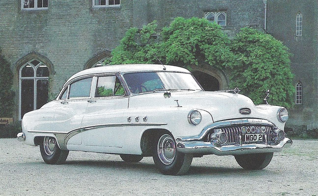 Buick Super Eight uit 1951.