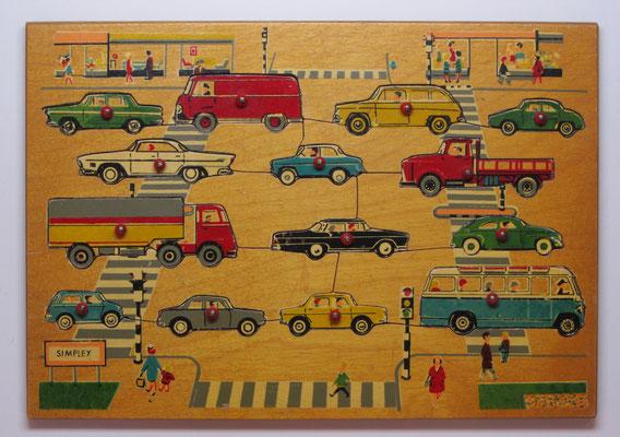 Houten puzzle van Simplex.