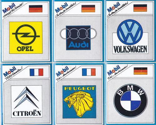 Stickers van Mobil.