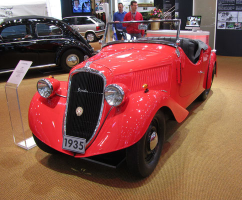 Skoda Popular uit 1935. (Techno Classica 2016 in Essen)