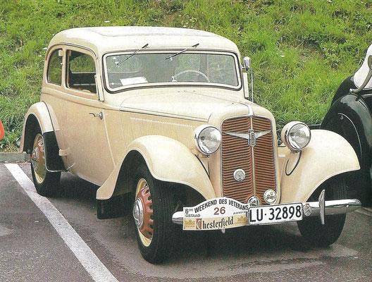 Een Adler Trumpf Junior uit 1939.