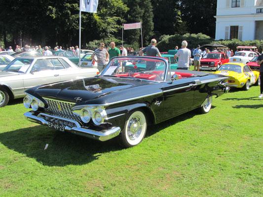 Plymouth Fury Convertible uit 1961. (Concours d'Elegance Paleis Soestdijk 2019)