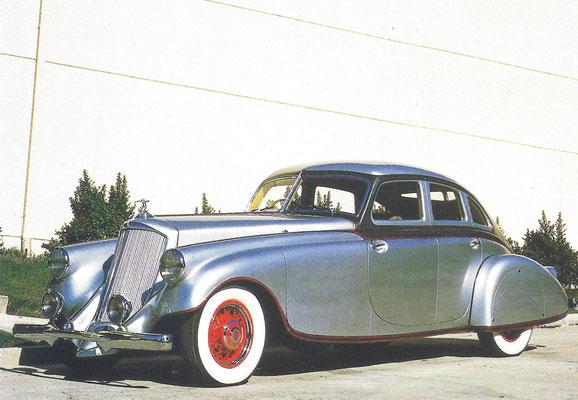 Pierce-Arrow Siver Arrow V12, er zijn er maar 5 exemplaren van gebouwd in 1933 en 1934.