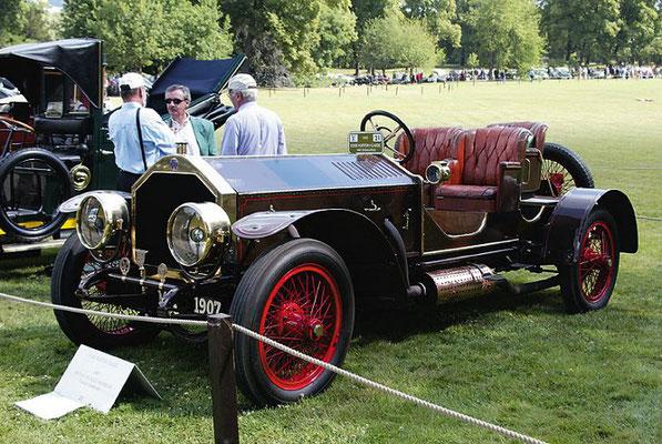 Métallurgique 10 liter 60/80 HP uit 1907.