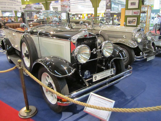 Horch 350 Pheaton 6-persoons. (Techno Classica 2015 in Essen)