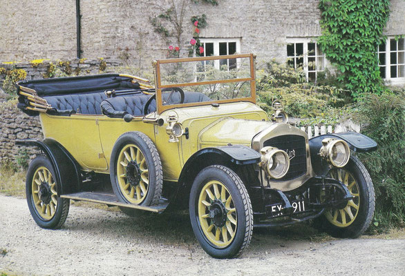 Excelsior uit  1911.