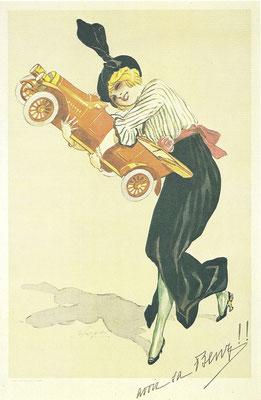 Een affiche van Benz uit 1912.
