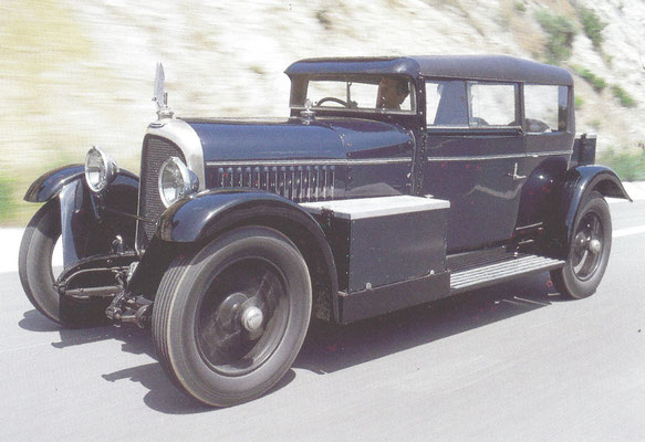 Voisin C14 Lumineuse, gebouwd van 1927 tot 1930.