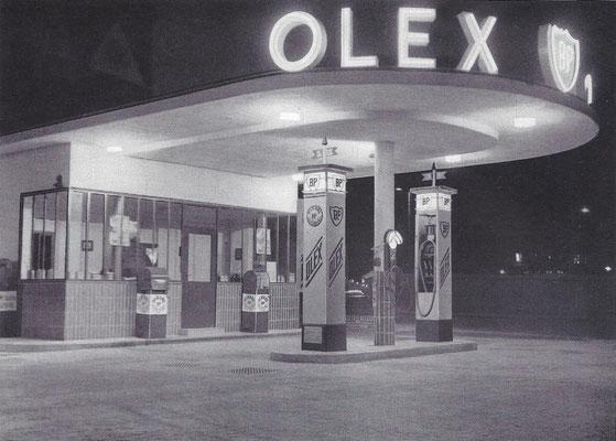 BP tankstation 1931.