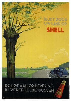 Nederlandse advertentie van Shell.