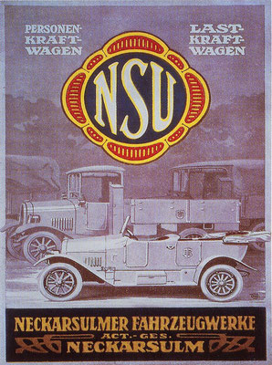 Duitse reclame van NSU.