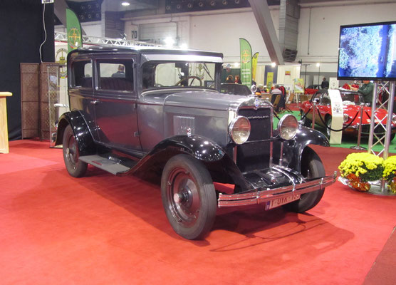 Chevrolet Series AC International uit 1929. (Interclassics Brussels 2018)