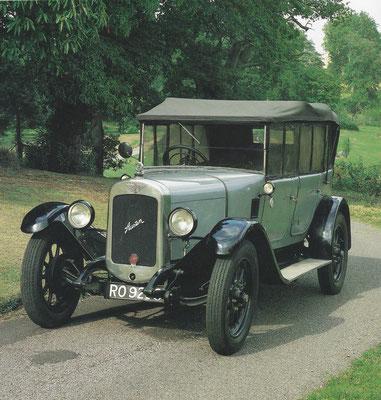 Austin Twelve Four uit 1928 (de grote broer van de Seven), gebouwd van 1922 tot 1935.