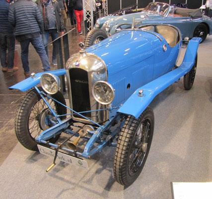 Amilcar CGS (Chassis Grand Sport) Boattail uit 1925 met een carrosserie van Ch. Duval. (Techno Classica 2018 in Essen)