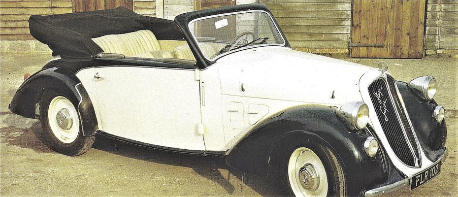 Steyr type 100 uit 1934.
