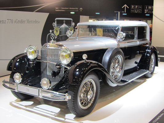 Een Mercedes-Benz 770 op de Techno Classica 2013 in Essen.
