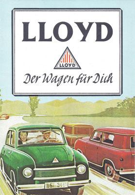 Reclame van Lloyd.