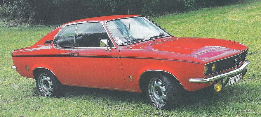 Opel Manta uit 1971.