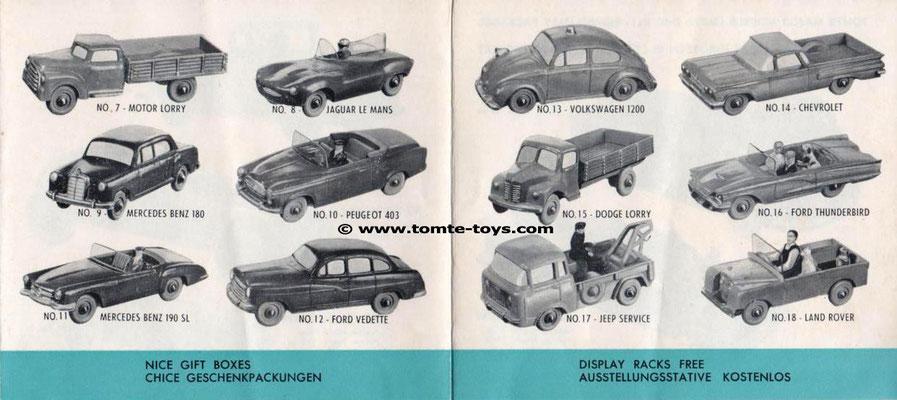 Een folder van Tomte uit 1964. (2)