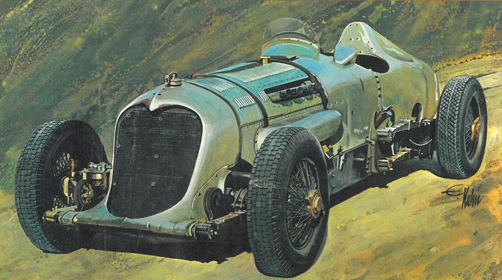 Napier-Railton uit 1933.