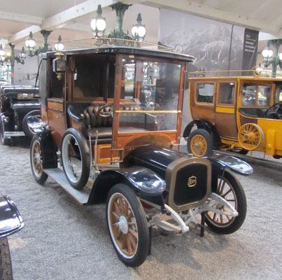 Delahaye Coupé Landaulet Type 1012 HP uit 1912 (Collection Schlumpf).