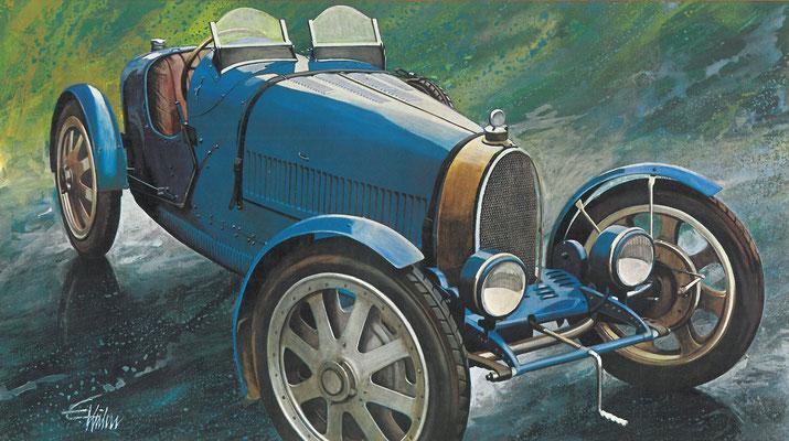 Bugatti 35 uit 1924.