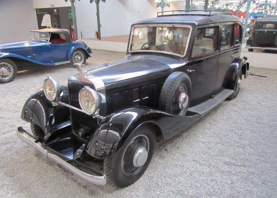 Hispano-Suiza Limousine K6 uit 1935 (Collection Schlumpf).