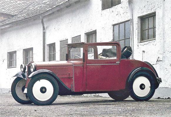 DKW F1 uit 1931.