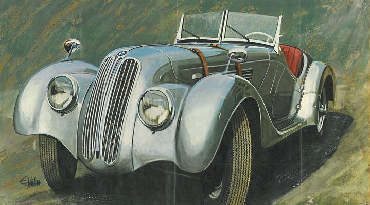 BMW 328 uit 1938.