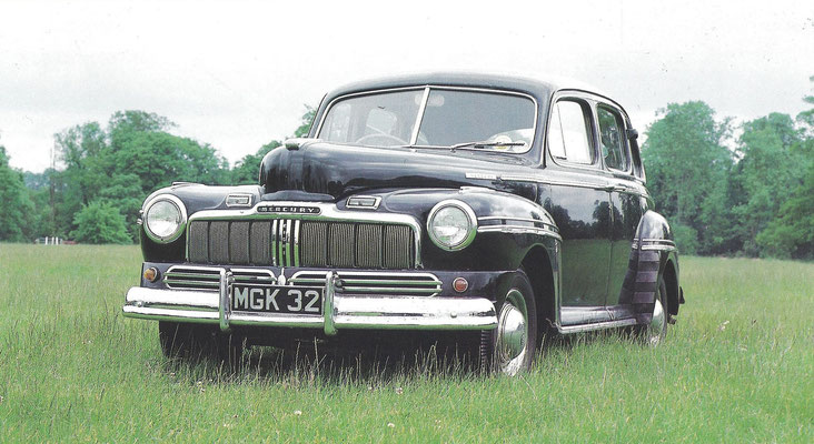 Een Mercury uit 1947.