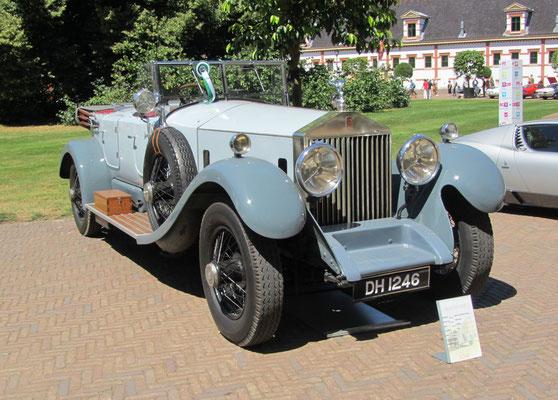 Rolls-Royce Phantom I uit 1928 (Concours d'Élégance 2018 op Paleis Het Loo in Apeldoorn).