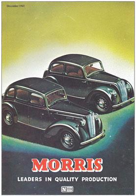 Advertentie Morris uit 1945.
