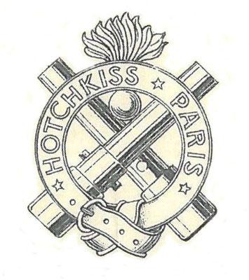 Het embleem op een Hotchkiss aandeel.